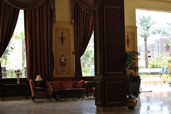 Grand Pyramids Hotel: Lobby