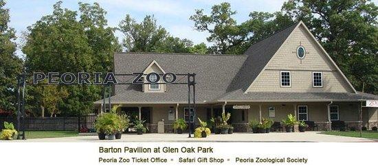 Barton Pavilion: Peoria Zoo Ticket Office, Safari Gift Shop, Peoria Zoological Society