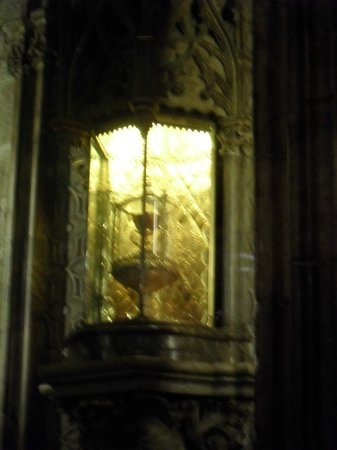 Capilla del Santo Grial: The Holy Grail