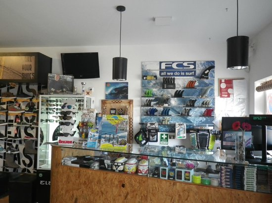 Sagres Natura Surf Camp School & Shop: Sagres Natura Surf Shop - Surf equiment