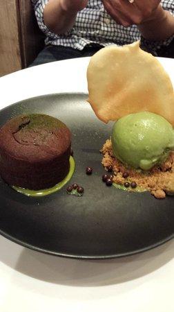 Spot Dessert Bar: Chocolate Green Tea Lava