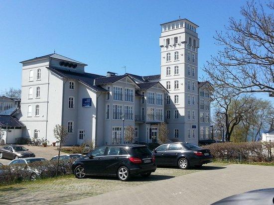 Hotel Hanseatic Rügen und Villen: Haupteingang