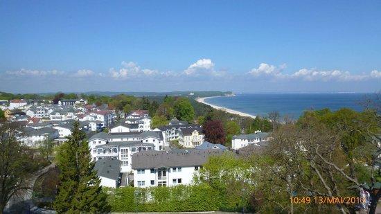 Hanseatic Rugen und Villen : Blick vom Turm