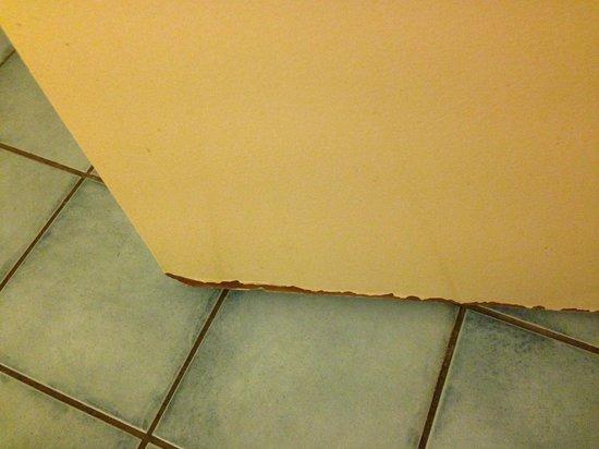 Campanile Amsterdam: Door of the bathroom
