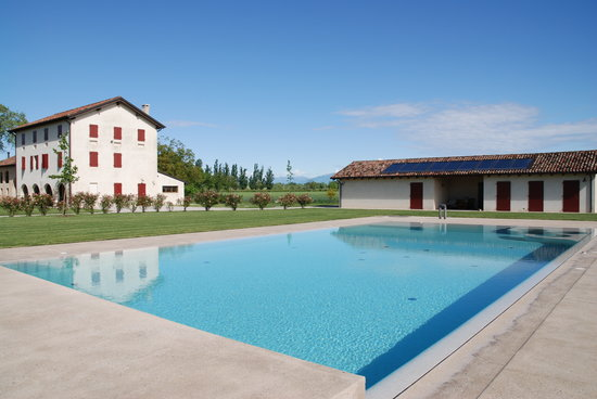 Ca' Bianchini: View from the pool