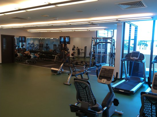 salle de fitness picture of ja ocean view hotel dubai tripadvisor. Black Bedroom Furniture Sets. Home Design Ideas