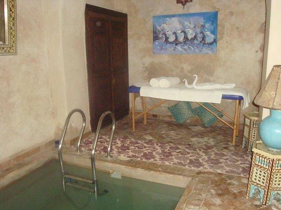Riad Arocha: piscine