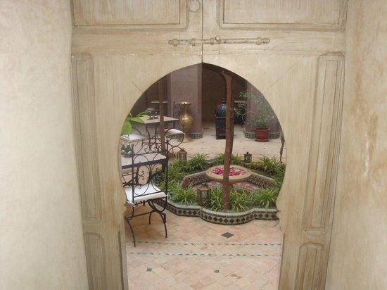 Riad Arocha : patio