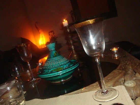 Riad Arocha: dînet en amoureux