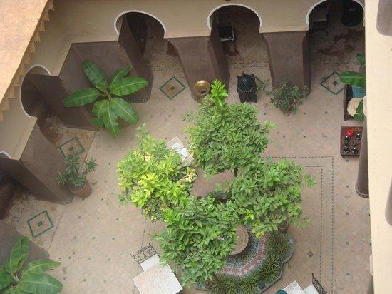 Riad Arocha: vue du toit