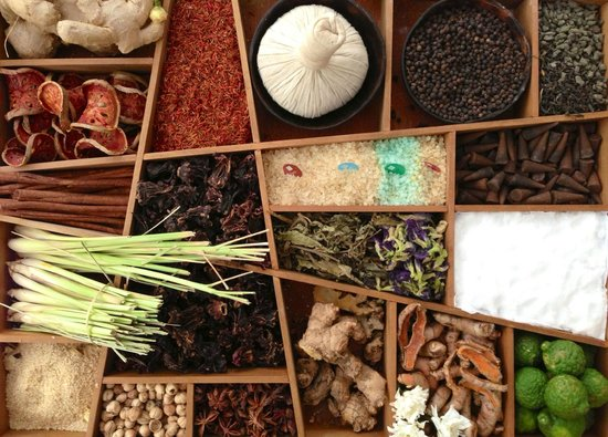 Luxsa Spa: Wide availability of herbs to remedy one's tired body