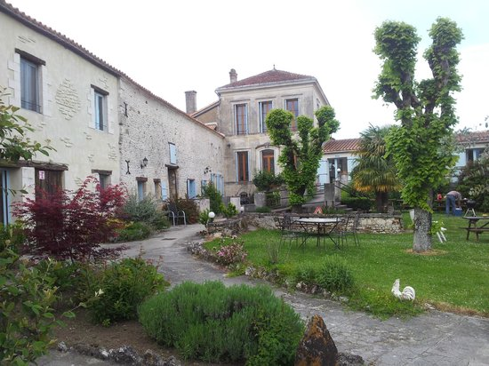 Domaine la Fontaine: Het eerste wat je ziet bij aankomst