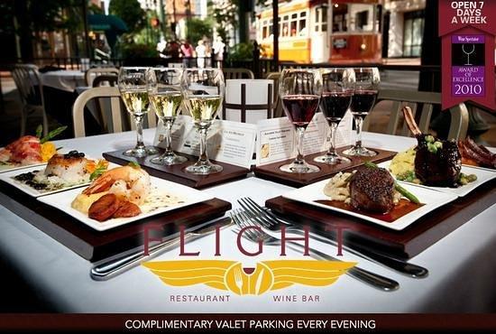 Photo of American Restaurant Flight Restaurant & Wine Bar - Memphis at 39 South Main Street, Memphis, TN 38103, United States