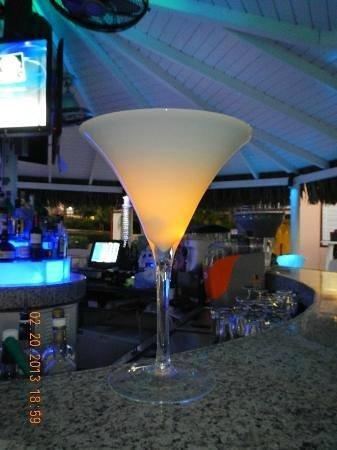 The Beach Bar: Martini Glass