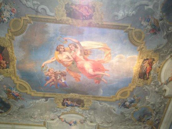 1865 Residenza d'epoca: Fresque au plafond