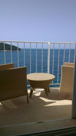 Hotel Excelsior Dubrovnik: view from room 310