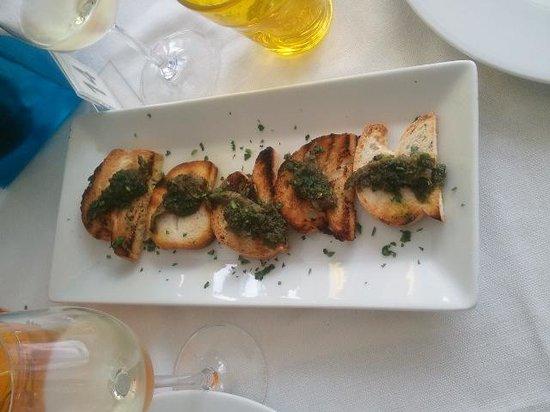 Terrazzamare restaurant: Entrée