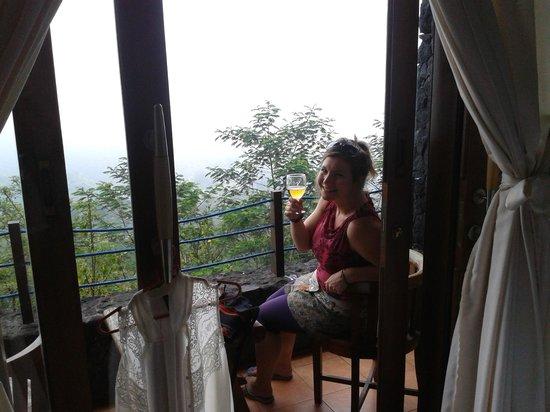 Lakeview Ecolodge: Balcony