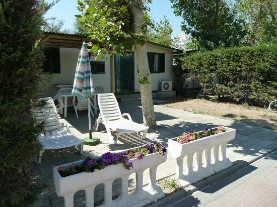Sottomarina, Italie : bungalow