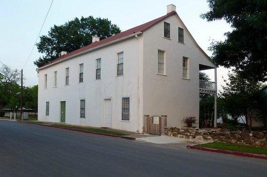 Landmark Inn State Historic Site: Streetside view