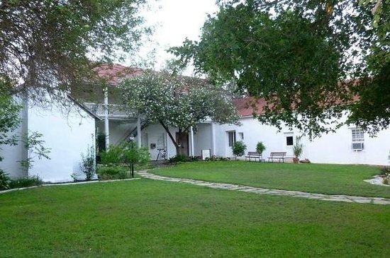 Landmark Inn State Historic Site: Rear of the inn