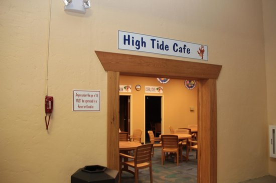 Palm Island Indoor Waterpark: Palm Island Indoor Water Park - High Tide Cafe
