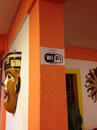 Hotel Decameron Los Cocos: Wi-Fi arrived at Los Cocos