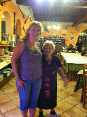 Marciano della Chiana, Italie : The chef!