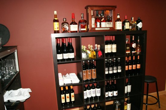 Bohemia Restaurant: A selection of over 20 wines from Latin America and a full service bar