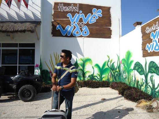 Hostel Vive la Vida: a la llegada