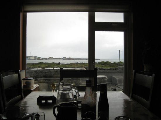 Radharc na Ceibhe: View of the bay from the breakfast room.
