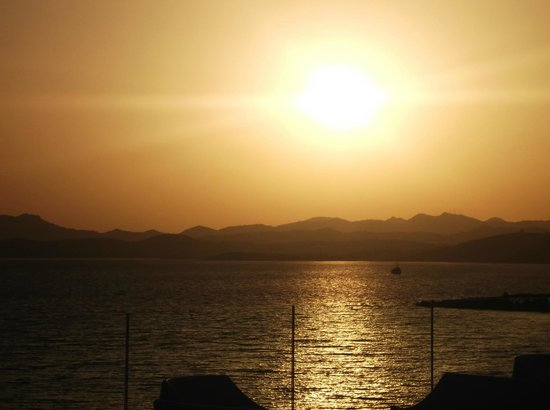 Bodrum Holiday Resort & Spa: View from the restaurant
