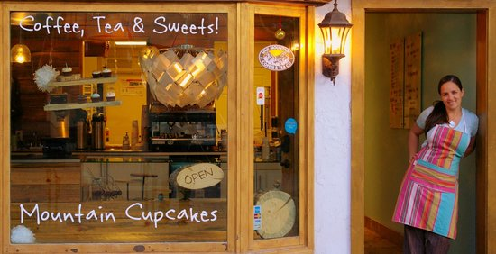 Mountain Cupcakes: Just a peak of the store with owner/chef