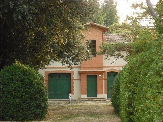 Agriturismo di Villa Mongalli: La villa in stile liberty