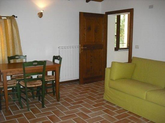 Agriturismo di Villa Mongalli: Soggiorno dell appartamento