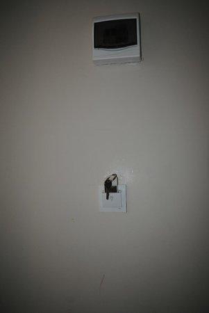 Simper Hotel: Wall