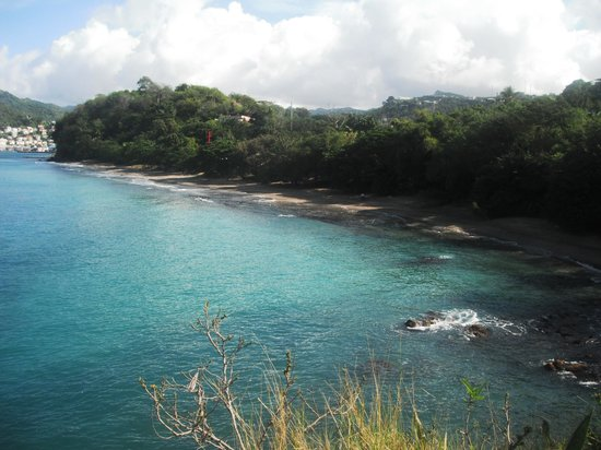 Caribbean Cottage Club: Mt Pandy beach from Ross Point across the street