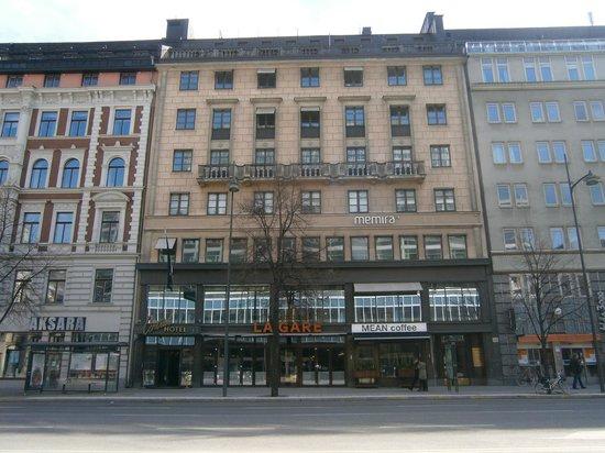 ProfilHotels Central Hotel : Das Hotel von außen