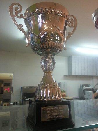 Pizzeria Quo Vadis: Trofeo 4º clasificado campeonato de europa 2010