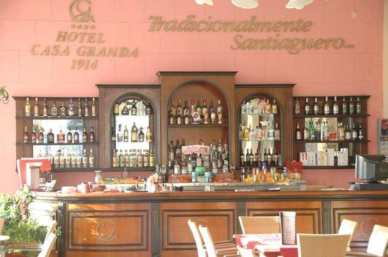 Hotel Casa Granda Restaurant: Le bar