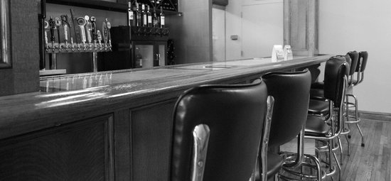 Cork & Keg Bar: plenty of wines by the glass and great local beers on tap!
