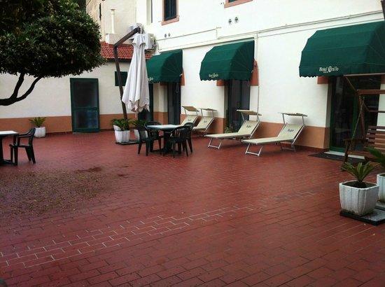 Hotel Corallo : Terrasse