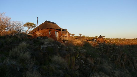 Grootberg Lodge: Abendstimmung