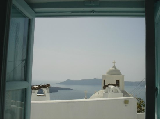 Aigialos Hotel: view from my room
