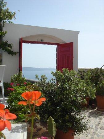 the famous red door