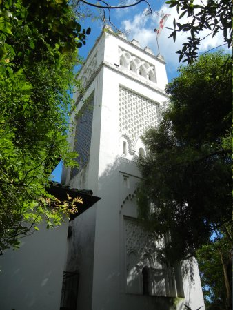 St Andrew: The minaret-shaped bell tower