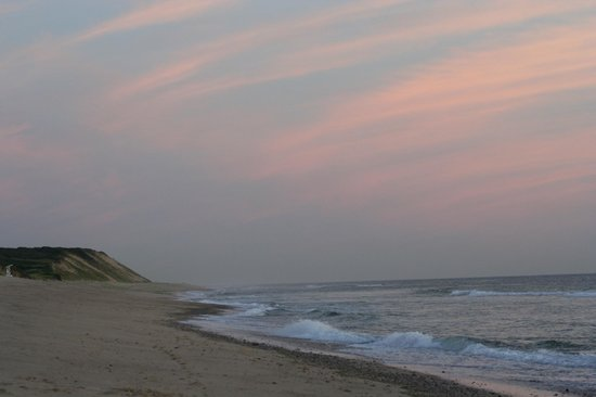 Bookstore & Restaurant: Wellfleet sunset