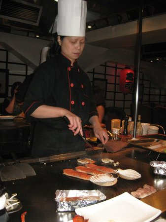 Ginza: Cooking