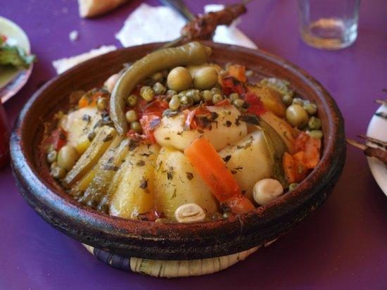 Riad Turquoise : Savoureux tajine