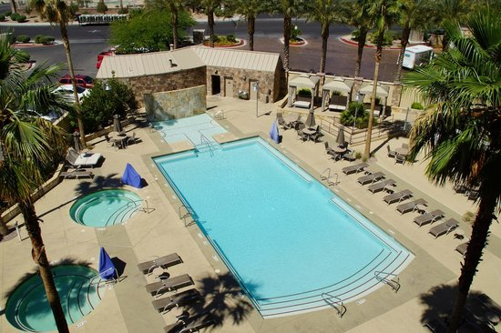 Staybridge Suites Las Vegas : Vue balcon